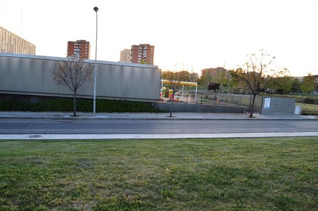 Entorno con muchas facilidades de aparcamiento